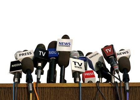 Foto de Press and Media Conference - Imagen libre de derechos