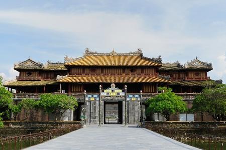 Emperor palace complex in Hue, Vietnam