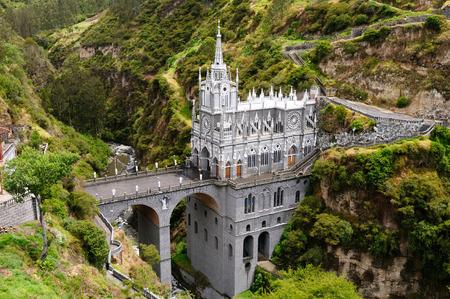 Colombia, church of Las Lajas