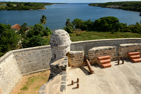 The Jagua fort is Fort built by Spaniards by the Cienfuegos city on Cuba.In the assumption he was supposed to defend the access to the Cienfuegos bay against assaults with pirates