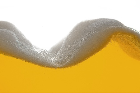 beer foam wave