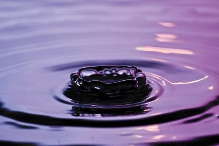 water drops crown