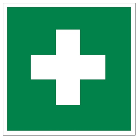 Rescue signs icon exit emergency first aid kit