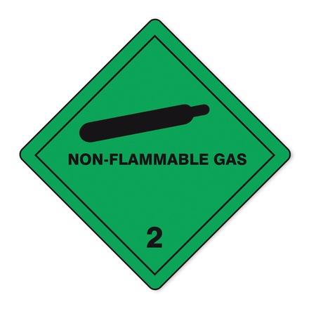 Hazardous substances signs icon flammable skull radioactive fire gas