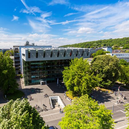 RWTH Aachen University Campus at summer in germany