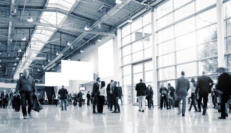 European Trade Fair stock photo