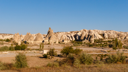 Cappadocia stands out for its unique landscapes in the world full of caves and caves, characterized by pyramids of the earth of volcanic origin, called fairy chimneys