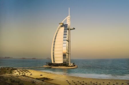 Burj al arab, UAE, Sunrise