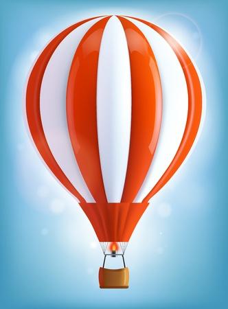 Photo pour Hot air balloon - image libre de droit