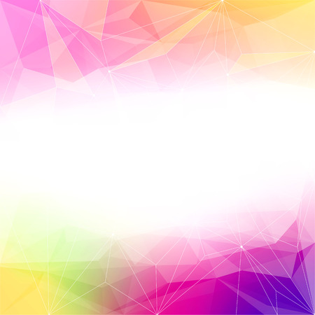 Photo pour Colorful abstract crystal background. Ice or jewel structure. Pink, Yellow and purple bright colors. - image libre de droit
