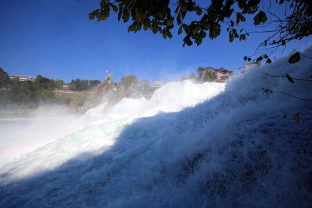 waterfall in Schaffhausen