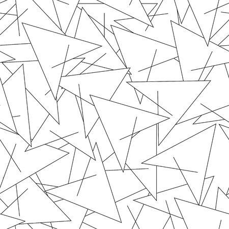 Photo for Geometric modern line seamless pattern - Royalty Free Image