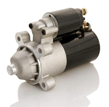 Automotive starter motor and selenoid