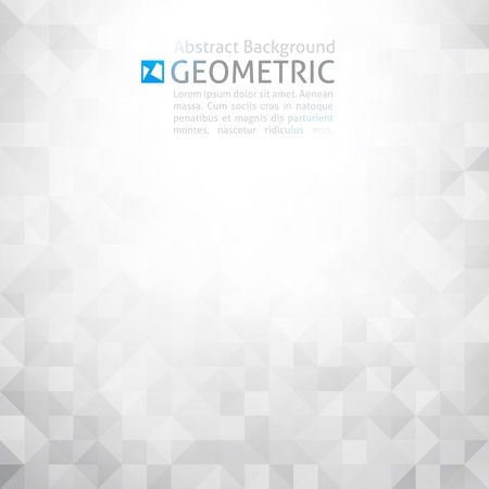 vector geometric abstract backgroundのイラスト素材
