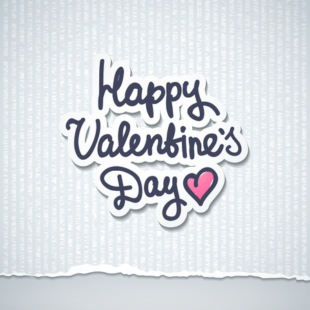 handwrite text, happy valentine's day