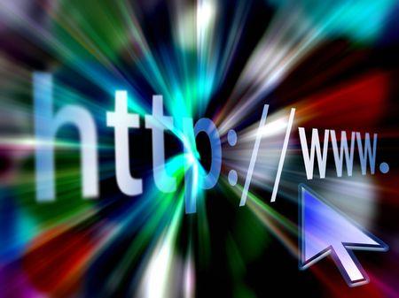 Photo pour           surf the  world wide web-www-http - image libre de droit