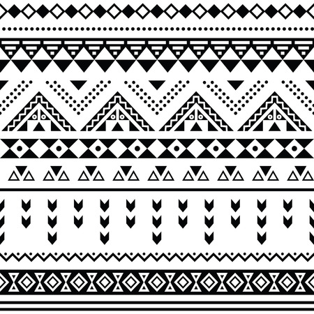 Tribal Triangle Pattern
