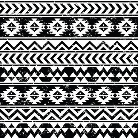 Grunge Tribal Pattern