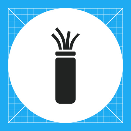 Electric cable icon