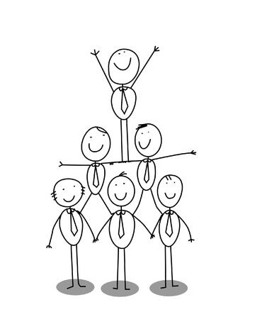 organitation chart teamwork