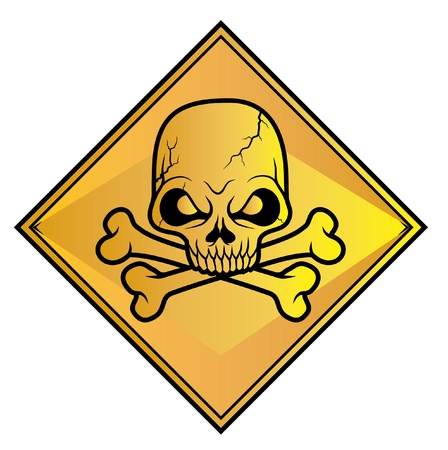 Skull sign danger