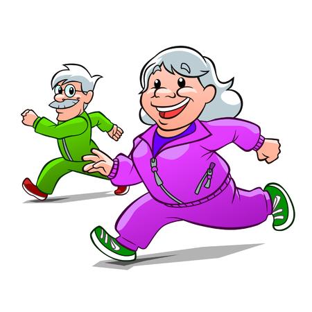 Eldery athletes