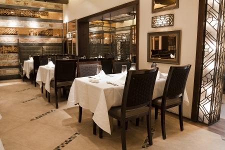 interior of a modern design restaurant