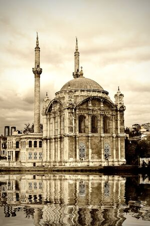 Ortakoy mosque at Bosphorus in Istanbul