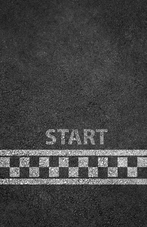 Foto de Start line racing background - Imagen libre de derechos