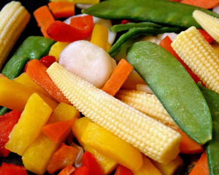 Frozen Assorted Vegetables - ready for cooking