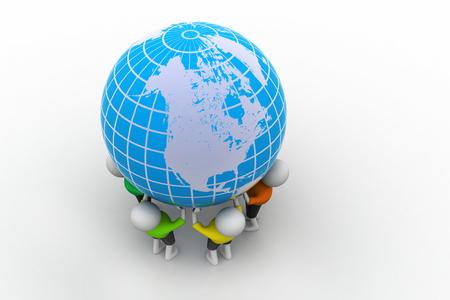 People kept the globe