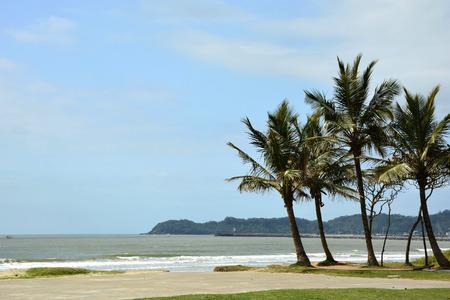 Landscape from Navegantes Beach in Brazil