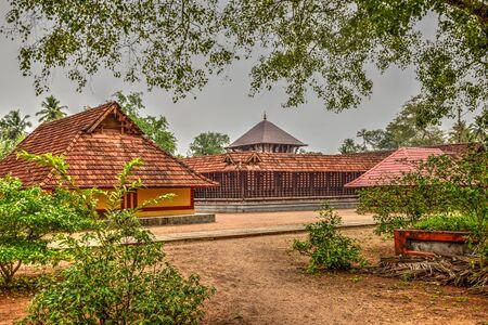 Photo pour A beautiful Hindu Shiva Temple at Mavelikara - image libre de droit