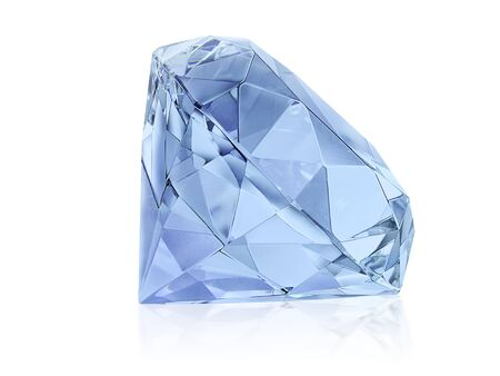 Photo for Large Clear Diamond - Royalty Free Image