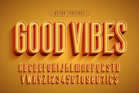 Foto de Condensed 3d display font design, alphabet, letters - Imagen libre de derechos