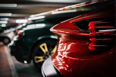 Photo for some great tuning car parts - Royalty Free Image