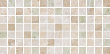 Ceramic tiles a mosaic