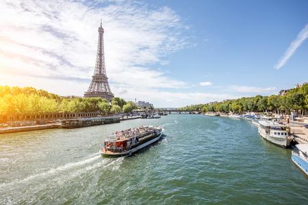 Photo pour Landscape view of Paris - image libre de droit