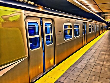 Vancouver's Sky Train commuter rail