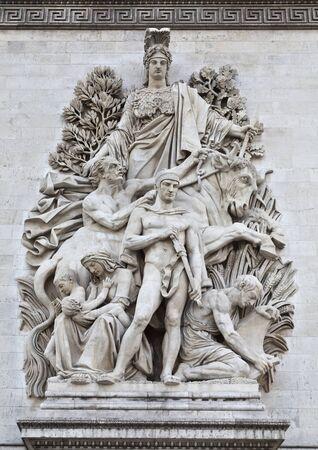 Arc de Triomphe – La Paix
