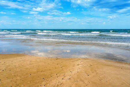Beach and tropical sea in Su