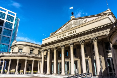 Photo for View of the famous opera house Teatro Solis in Montevideo, Uruguay - Royalty Free Image