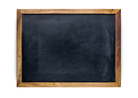 Photo for Blank blackboard, empty whiteboard - Royalty Free Image