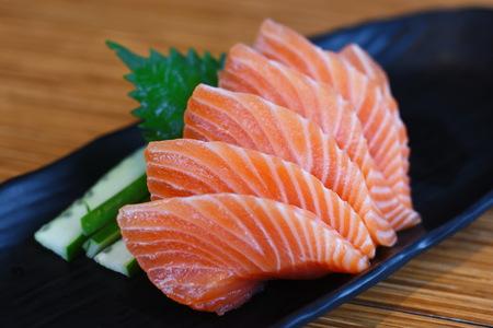 Foto de Salmon Sashimi - Imagen libre de derechos