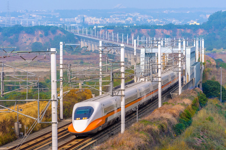 Photo for taiwan high speed rail - Royalty Free Image