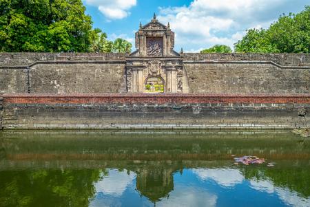 Foto für main gate of Fort Santiago in Manila, Philippines - Lizenzfreies Bild