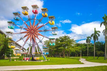 Photo pour Yuanshan Natural Landscape Park, built on the site of former Taipei Children's Amusement Park, is open to the public on June 15, 2019. - image libre de droit