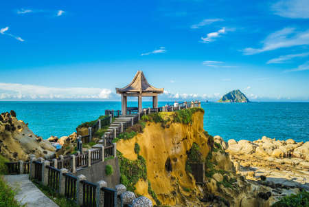 Photo pour scenery of Keelung islet and Heping Island Park in taiwan - image libre de droit