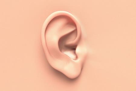 Foto für Human ear close up without any hair surrounding - Lizenzfreies Bild