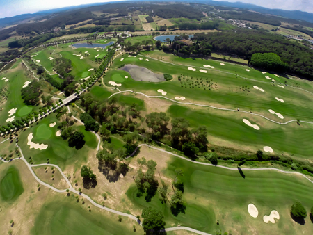 aerial web from Golf course